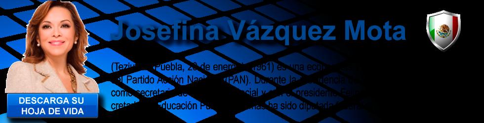 JOSEFINA VAZQUEZ MEXICO